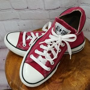 Converse Red Chuck Taylor All Star Sneakers